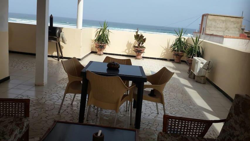 Studio en face de l'océan