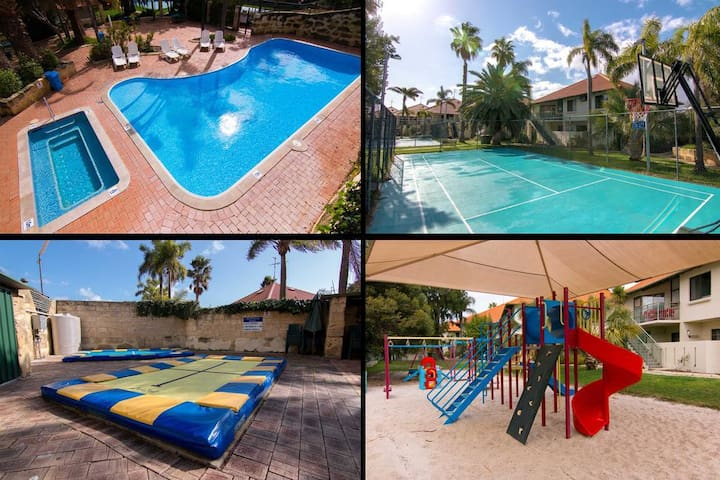 Relax at Unit 67 Family Resort  Close to the beach