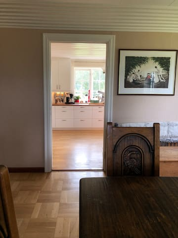 View from dinning room to kitchen (shared)