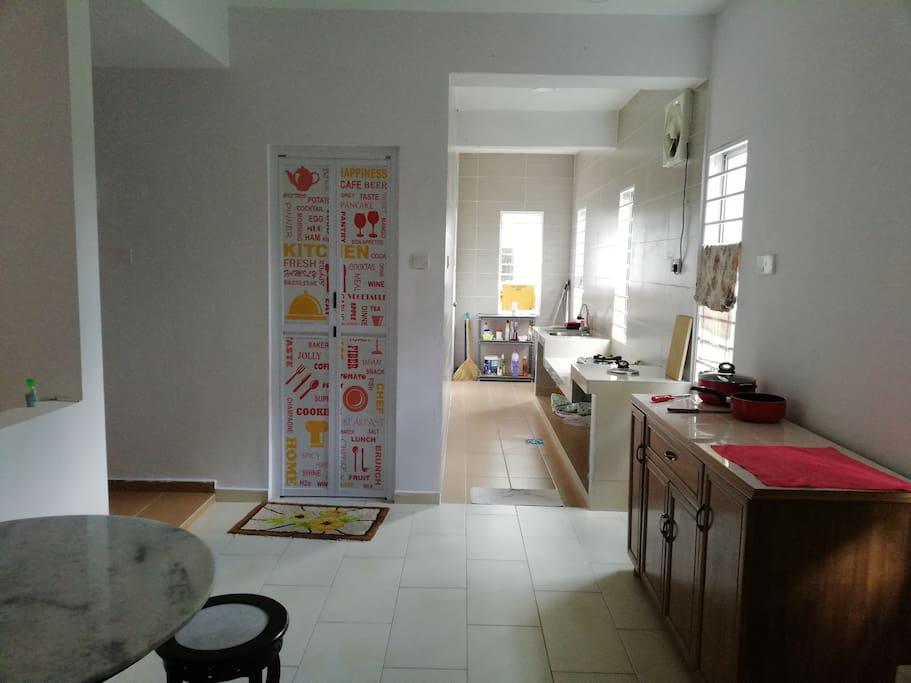 Kitchen Back