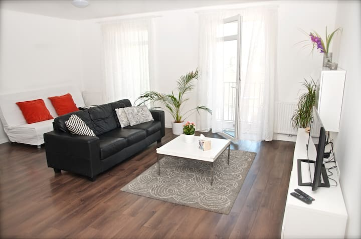 Apartment Husova s balkónem