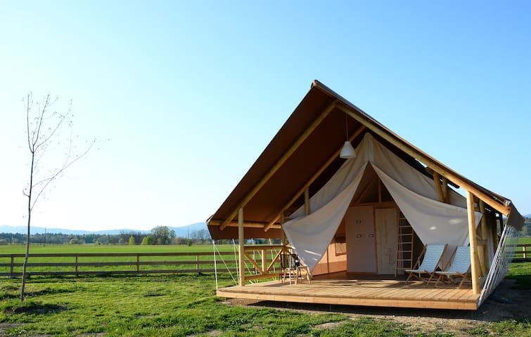 Luxury Glamping tent - Krasinec - Tenda de campanya