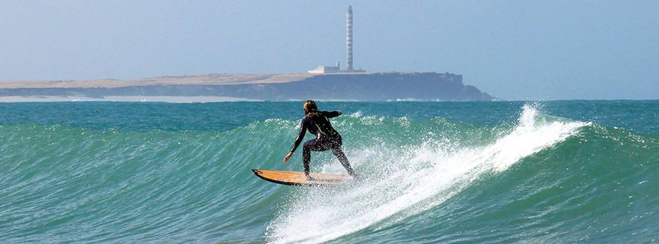 Chambre + surf vague - Dakhla