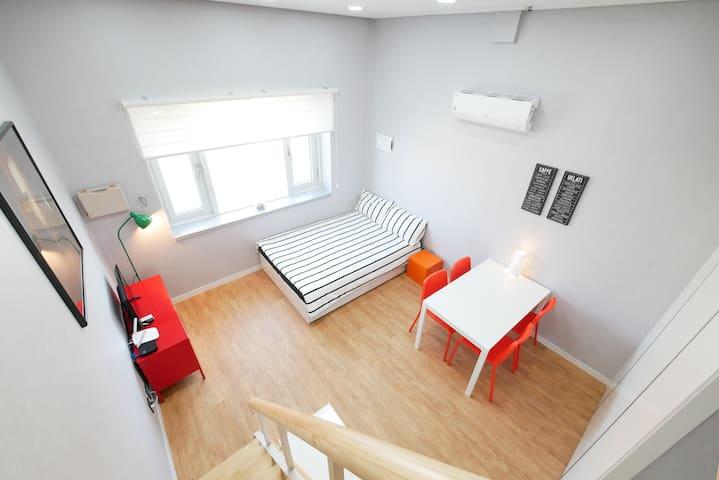 [Renovated Flat] ◆ DDM AIR BLOOMING Loft #131 ◆
