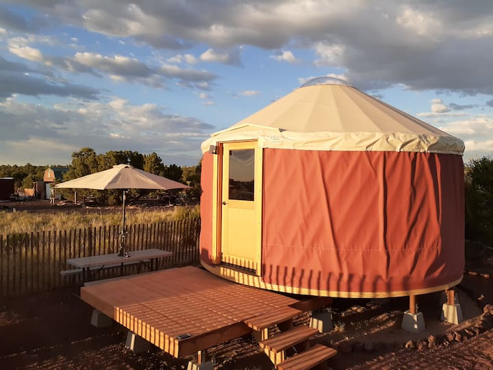 Gurty the Grand Canyon Yurt