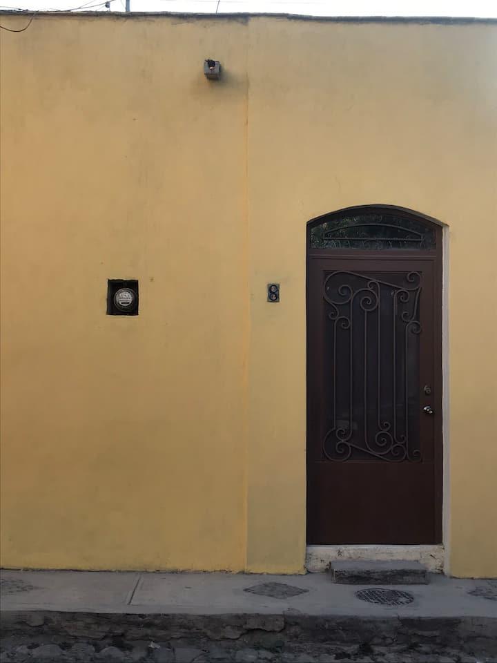 Casa agradecida en el centro  de Ajijic