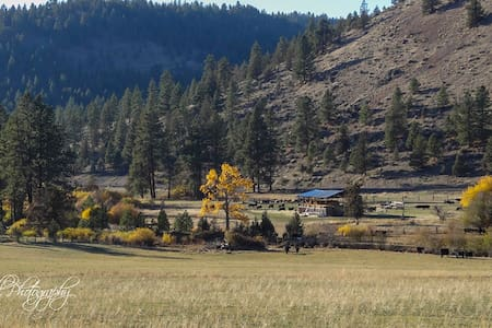 Authentic, cozy  Bunkhouse at Wine Down Ranch - Prineville - Cabana