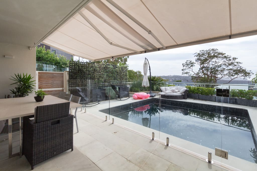 Patio Area, Pool, Alfresco Dinning and BBQ, Facing North