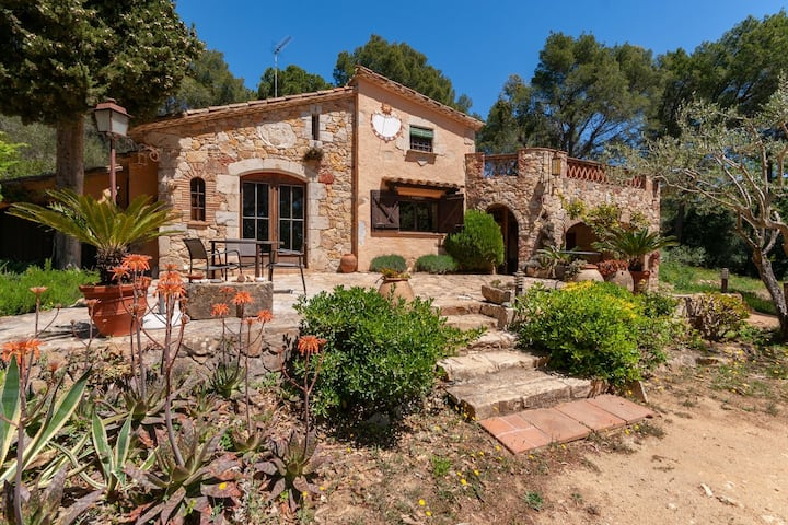 Countryside Mansion in Palafrugell with Private Garden