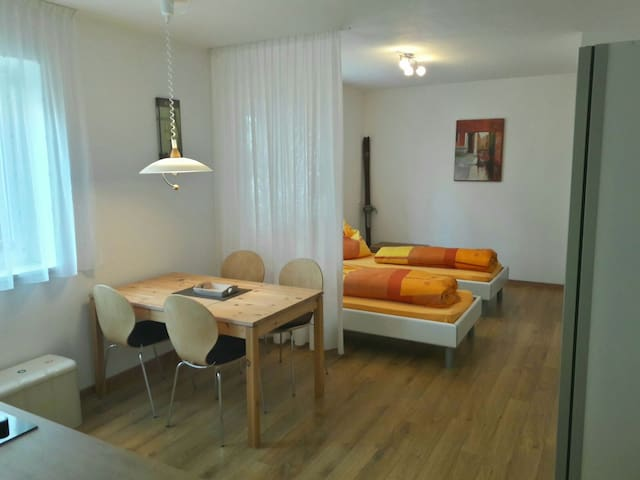 One-room-Apartment at Olang right on the Kronplatz - Mitterolang - Huis