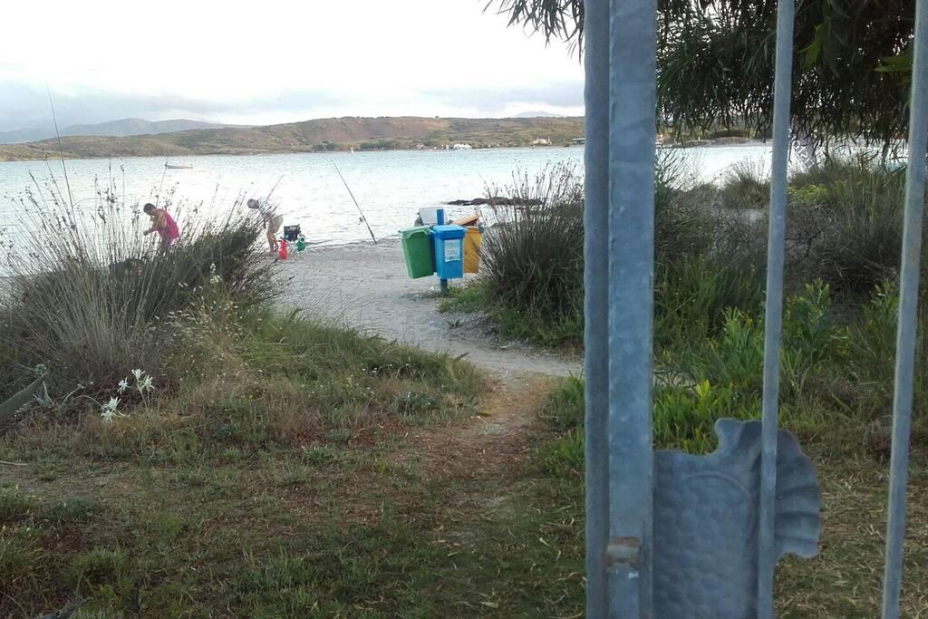 vialetto per spiaggia