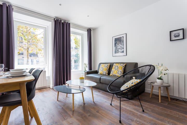 Amazing apartment-6P- Montorgueil / République