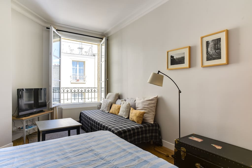 The flat has been recently renovated and designed like a hotel suite