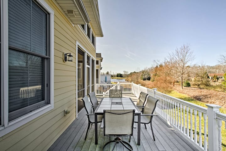 Selbyville Golf Course Home w/ Deck & Pool Access!