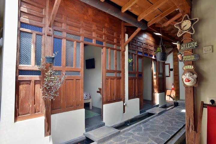 Joglo Room at Homestay Ndalem Timoho