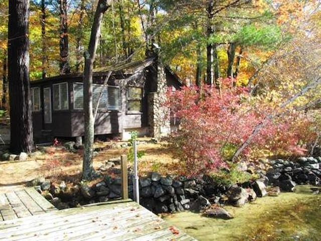 Classic Private Cabin on Lake Winnipesaukee