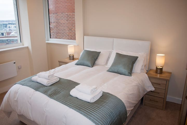 St Peters View - Stylish 2bed in Derby City Centre