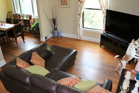 Cozy & Quiet 15 min Drive From Downtown - Oak Park - Huis