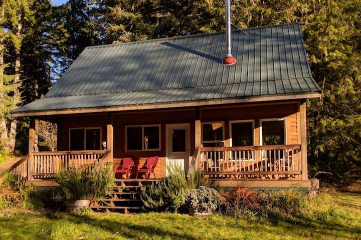 Cozy Cattail Cabin Coastal Retreat