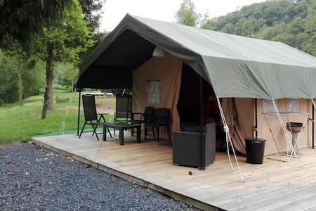 Safari-tent op camping in Mullerthal Luxemburg - Wallendorf-Pont - Sátor