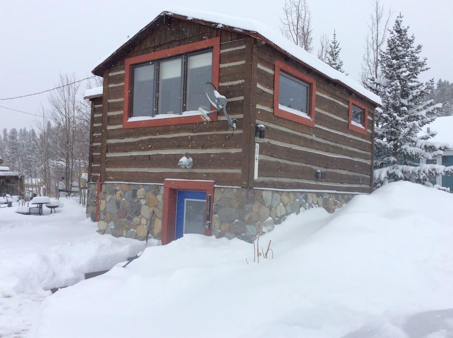 Winter in Alma