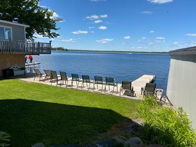 Balsam lake brand-new walkout apartment