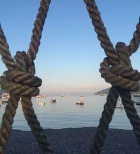 躺在床上可以看海上日出的民宿(海景标房) - 舟山 - Villa