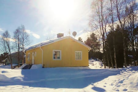 House for rent in Swedish Lappland