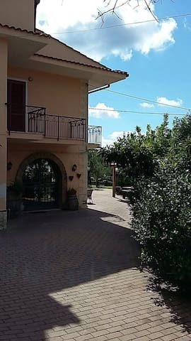 My B & B is surrounded by a large, green garden wi - Nocera Tirinese