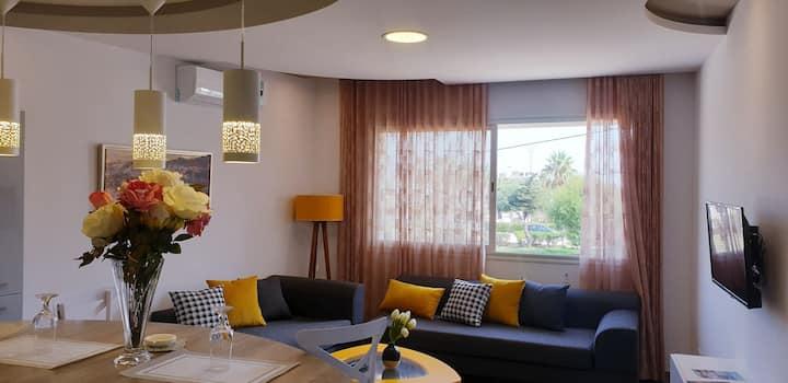 appartement jasmin s+1 #A1 à 3 mn de la plage