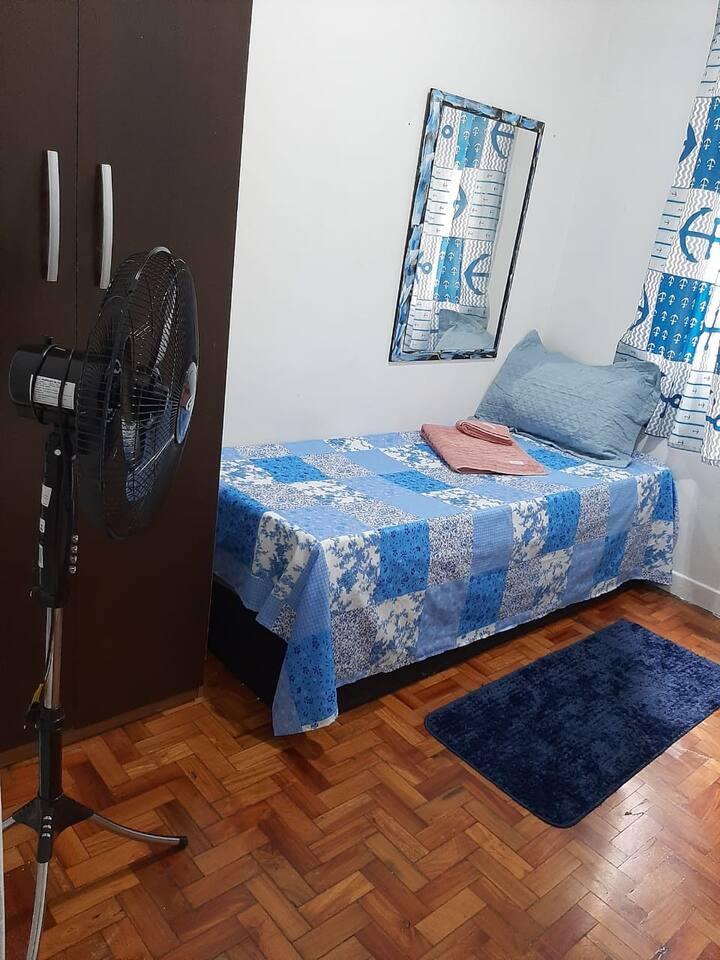 Ótimo quarto individual em meu apartamento 1