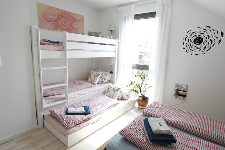Etagenbett Zimmer 2
