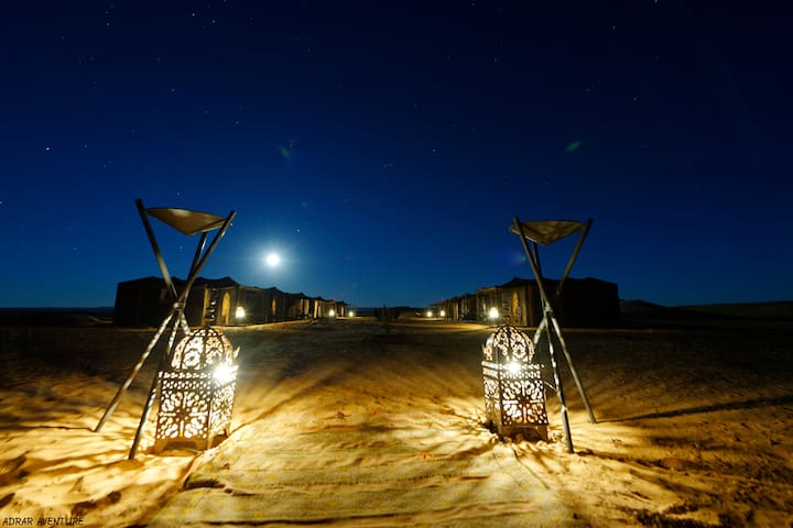 Camp Adrar Aventure - Merzouga - Tenda
