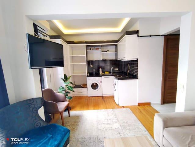 Temiz merkezi konumda konforlu apartman dairesi