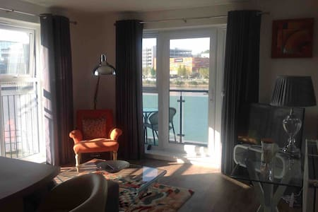 Luxury two bedroomed apartment with balcony