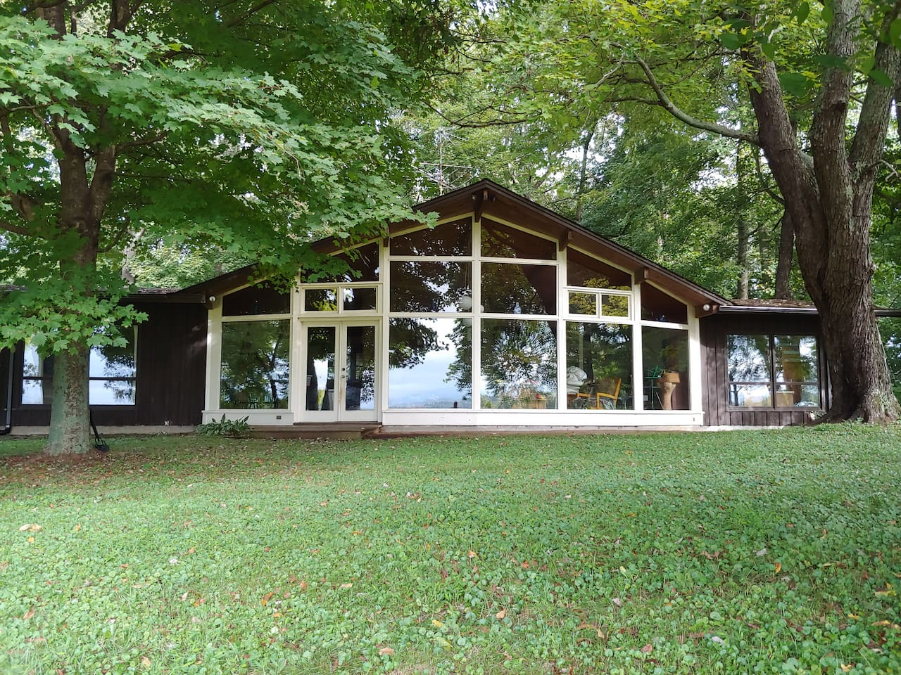 Our home was custom designed and built by a psychology professor at E&H in the 60's.