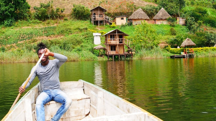 Living local on lake bunyonyi