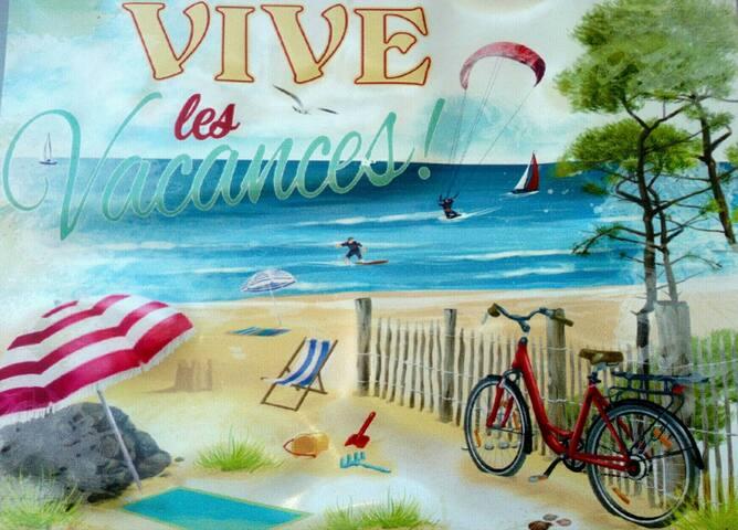 """DEMEURE DE CHARME """"Vive les Vacances""""."""