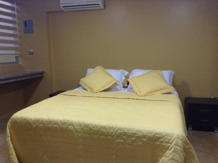 Elegante suite ubicada en el centro de Máchala a