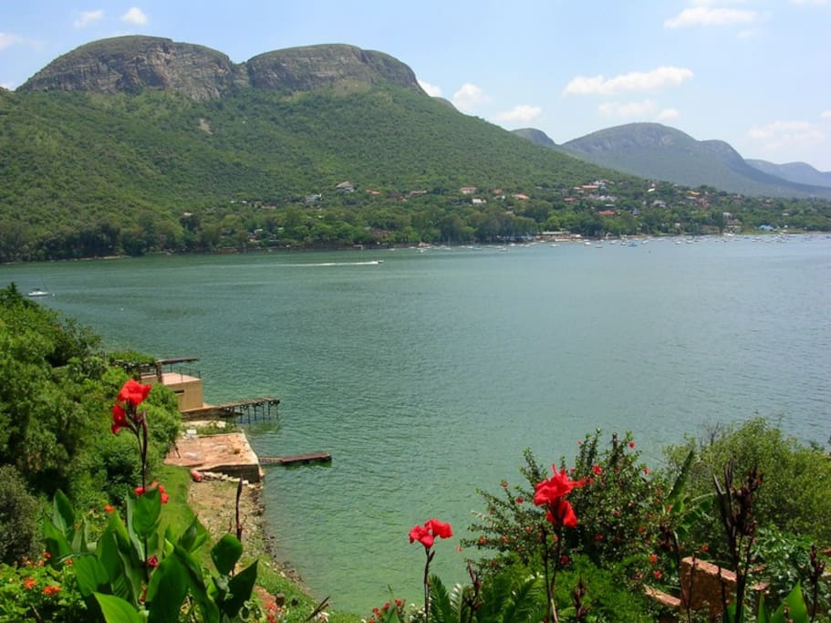 The property offers one of the most exquisite views in Harties