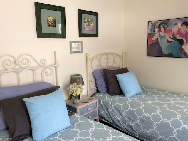 Downtown Great Barrington, Two Beds, Original Art