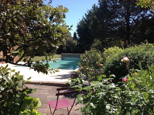 Aix en provence de mon jardin - Aix-en-Provence - Casa