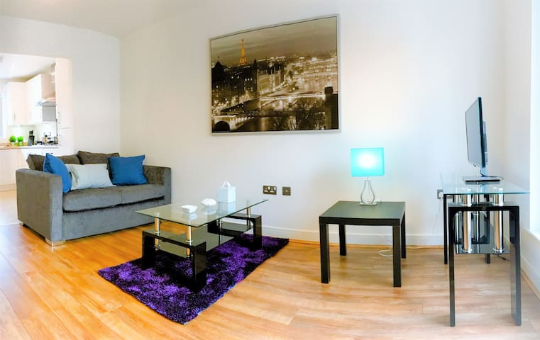Stunning House In Manchester With Free Parking! - Manchester