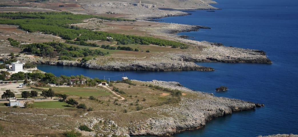 Appartamento in villa sul mare - Porto Badisco ( Otranto ) - Lägenhet