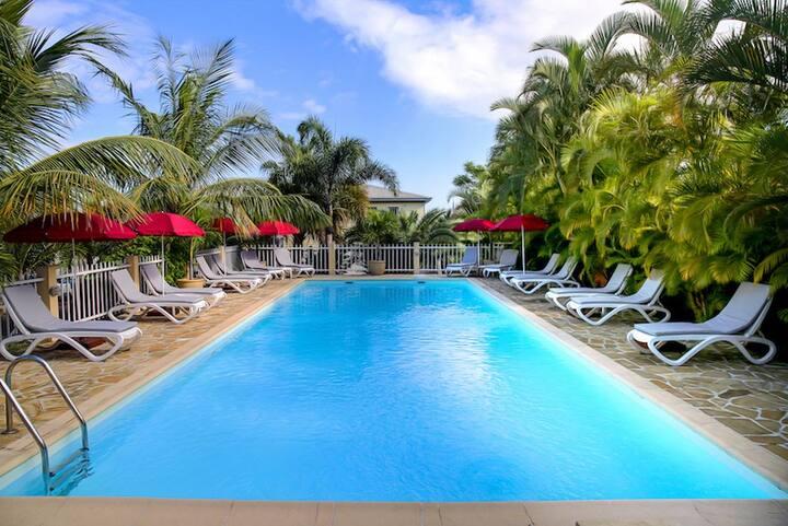 Villa T4 de standing dans rés. avec grande piscine