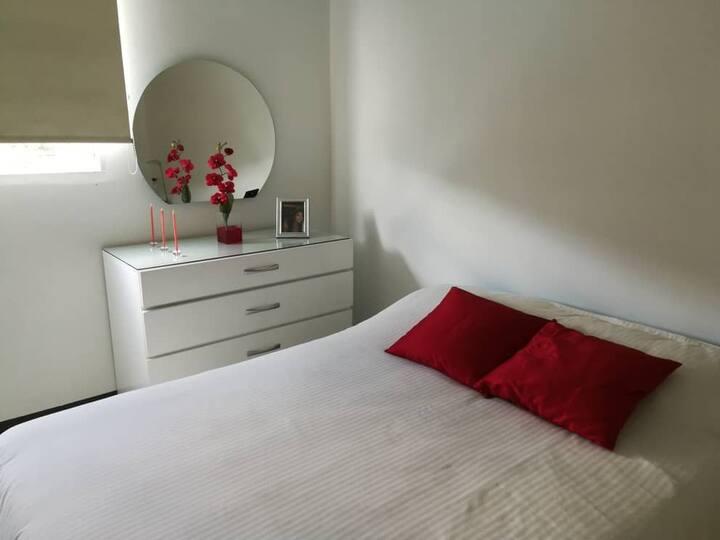 Cozy Bedroom in a quiet place La Boyera.