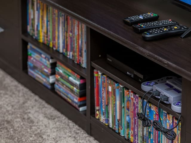 Extensive video library