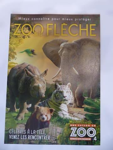 zoo de la Fleche 30 mns