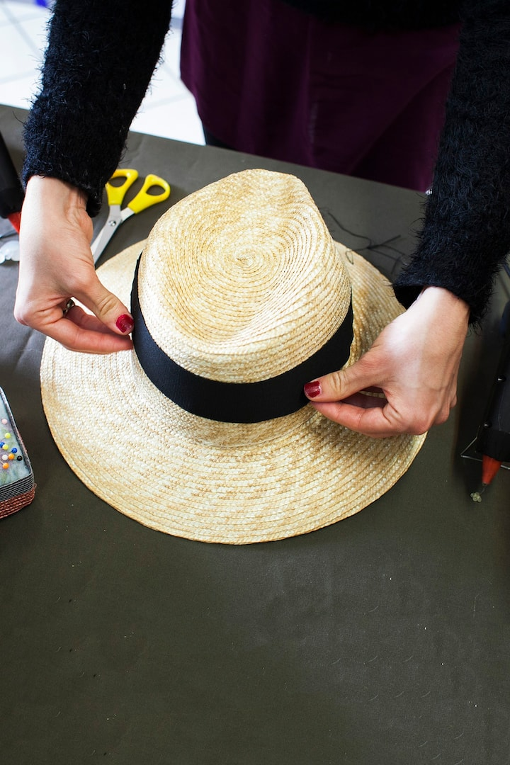 This is a typical Straw Hat, like the one you're taking home!