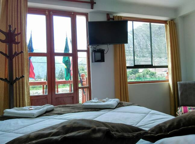 Villa San Román-Room Queen - Ollantaytambo - Penzion (B&B)